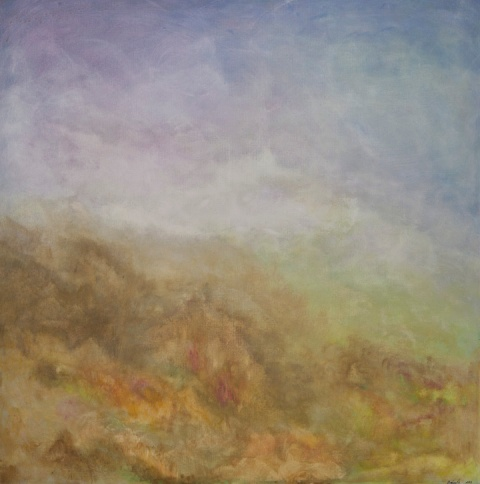 Fog over the moorlands